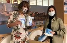 El Ayuntamiento de la Canonja entrega 3.000 mascarillas a los centros escolares
