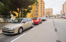 El carrer N de Sant Pere i Sant Pau estrena places per aparcar