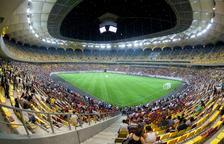 Rumania aprueba permitir un 25% de público en partidos de la Eurocopa en Bucarest
