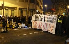 Tres detinguts per presumpte desordre públic en la manifestació per demanar la llibertat de Hasél a Barcelona