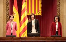 Laura Borràs es escogida presidenta del Parlament en una segunda votación