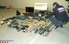 Desarticulen un grup criminal que robava en segones residències i comerços d'Alcanar