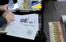 Detienen 37 miembros de una organización dedicada a la introducción de billetes falsos de 50 euros