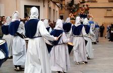 Els actes estàtics i les celebracions amb aforament limitat substitueixen les processons de Setmana Santa