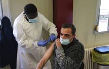 Catalunya supera el milió de primeres dosis posades de la vacuna contra la covid-19