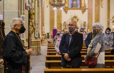 Els Natzarens de Tarragona mantenen el Dimarts Sant com el seu dia amb un viacrucis