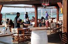 Les activitats a l'aire lliure i la baixa incidència de covid beneficien el Delta de l'Ebre
