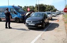 Intensifican los controles de movilidad en el Ebro cerca del límite con la Comunidad Valenciana y Aragón
