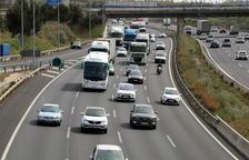 158.000 vehicles han sortit de l'Àrea metropolitana de Barcelona fins a les nou de la nit