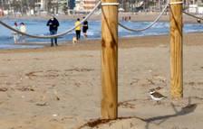 Calafell pide «conciencia» a los visitantes de las playas para proteger el chorlitejo patinegro