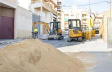 Comencen les obres de renovació de la xarxa d'aigua al carrer Girona de Constantí