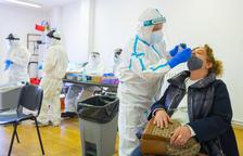 Salut confía en hacer entre 1.000 y 1.500 PCR al cribado del barrio de Bonavista