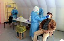 Un laboratori de Màlaga crea un test que distingeix la variant de covid-19