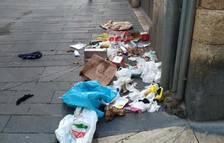 Entidades vecinales de la Part Alta de Tarragona alertan del incivismo descontrolado con la basura