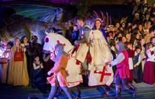 Es posa a la venda les entrades de l'espectacle de la Llegenda de Sant Jordi de Montblanc