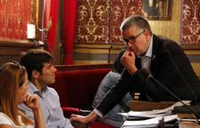 Pau Ricomà y Dídac Nadal en una imagen de archivo durante un pleno del Ayuntamiento de Tarragona.
