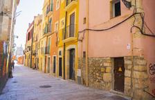 La calle Ferrers, en la Part Alta, esconde una bóveda romana de más de 20 metros de largo.