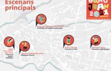 Valls presenta cinco nuevos escenarios por Sant Joan