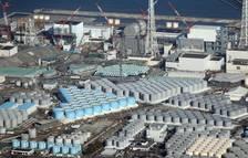 Instalaciones donde se acumula el agua procesada de la central de Fukushima. EFE