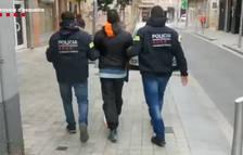 Detenido en Valls un hombre que no había vuelto a prisión después de un permiso penitenciario