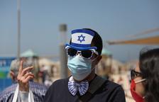 Els israelians ja no hauran d'utilitzar la mascareta a l'aire lliure a partir de diumenge