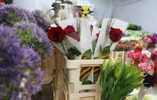 Els floristes preveuen vendre 4,2 milions de roses per Sant Jordi a Catalunya
