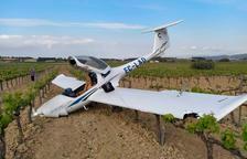 Un avió del CESDA aterra d'emergència entre el Vendrell i Vilafranca