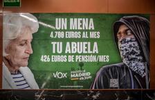 La Fiscalia investiga un presumpte delicte d'odi de Vox per un cartell electoral contra els Mena