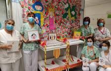 L'Hospital Universitari Joan XXIII també celebra la Diada de Sant Jordi