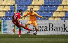 L'1x1 del Villarreal B-Nàstic