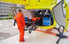 Imagen del helicóptero del SEM.