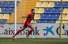 Pedro Martín, golejador contra el Villarreal B, no podrà disputar aquest partit per lesió.