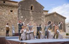Salomó celebra amb èxit el Ball Parlat del Sant Crist a l'aire lliure