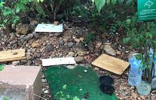 Destrozan dos colonias controladas de gatos al barrio de Sant Pere i Sant Pau de Tarragona