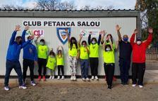 El Club Petanca Salou pone en marcha la primera escuela a nivel catalán