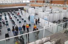 vacunación, Palau d'Esports Catalunya, Tarragona, Anilla Mediterránea, Campclar, coronavirus, covid-19, pandemia, virus, Salut