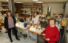 Cristina Adzerias, Ester Ciurana i Maria Teresa Saperas, tres generacions d'ADZ Nadons.