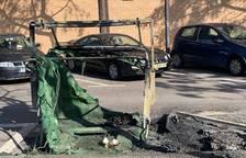 Los Bombers realizan cinco servicios por incendios de vehículos y contenedores en el Camp de Tarragona