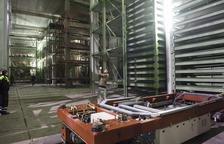 Imatge d'arxiu de l'interior de l'aparcament Jaume I, que havia de costar inicialment 4 milions d'euros i va acabar costant més de 30.