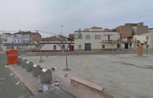 Imatge d'arxiu de la plaça Pau Casals de Móra la Nova.