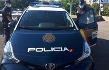 Imatge d'un vehicle de la Policia Nacional.