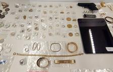 Desarticulan en Tarragona una organización criminal especializada en robos de oro y joyas en domicilios
