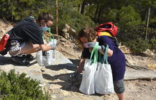 Se recogen cerca de 108,8 kg de residuos en la jornada 'Let's clean up Europe' que se llevó a cabo el sábado