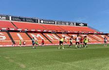 Els equips de la base del Nàstic entrenaran al Nou Estadi