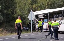 El conductor muerto en el accidente en la C-14 en Alcover es un vecino de Tarragona de 52 años