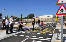 Roda de Berà pone en marcha el nuevo circuito de educación vial