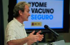 Simón diu que els majors de 60 anys vacunats amb AstraZeneca poden rebre la segona de Pfizer, si cal