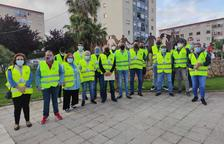 Los voluntarios de Sant Pere y Sant Pau, preparados para vigilar los cajeros