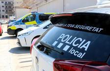 Detalle de un vehículo de la Policía Local del Vendrell.
