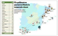 El Nàstic recorrerà 9.910 quilòmetres en el seu intent d'ascendir a Segona